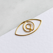 Rama Eye Gold Paperclips