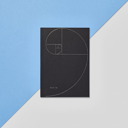 Ratio Notebook: Black