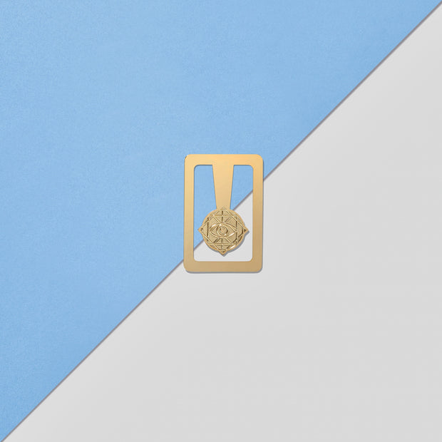Rama Publishing | Rama Eye Gold Brass Bookmark