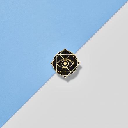 Rama Publishing | Black Rama Eye Pin