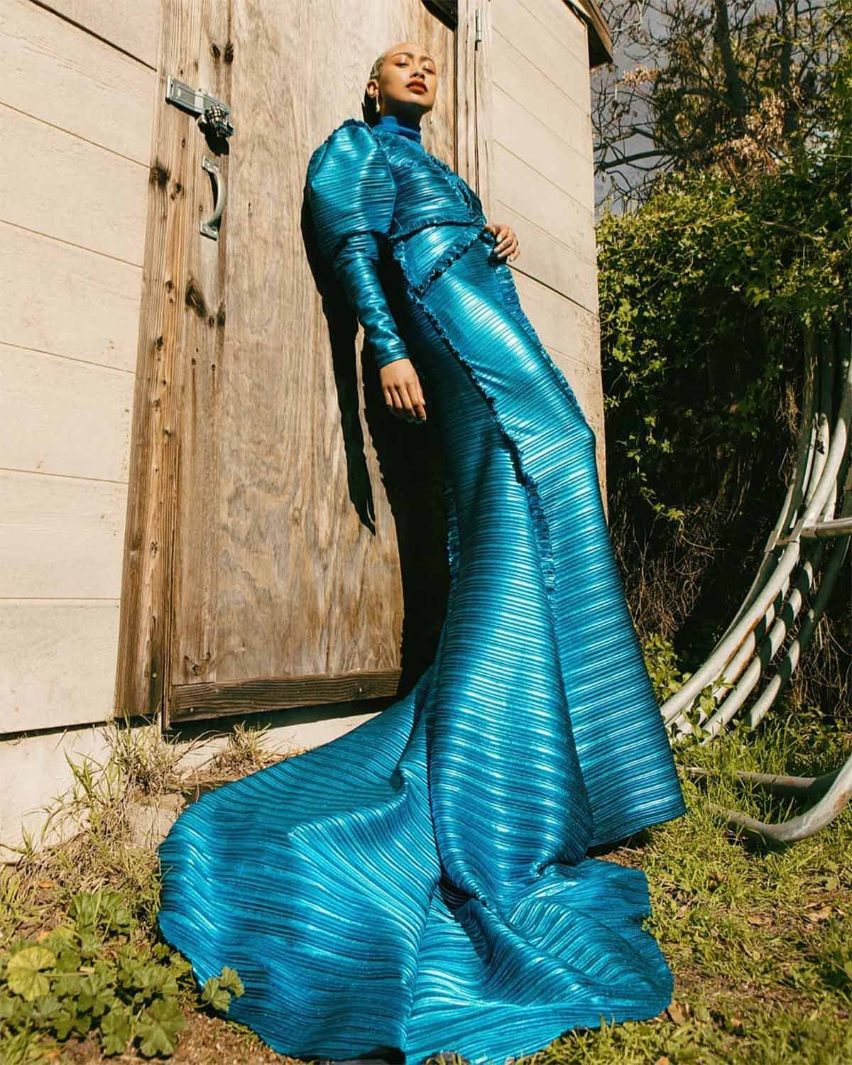Tati Gabrielle Blue Dress