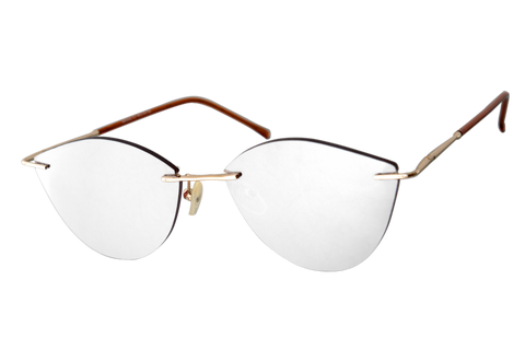 Silver Mirrored Hepburn - eliasunglasses