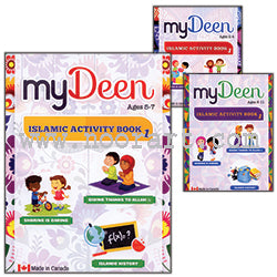 My Deen Islamic Activity Books