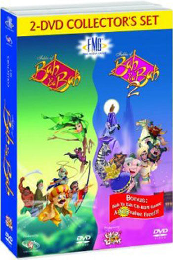 The Fables of Bah Ya Bah - Collector's Set (2 DVDs, With CD-ROM Game)