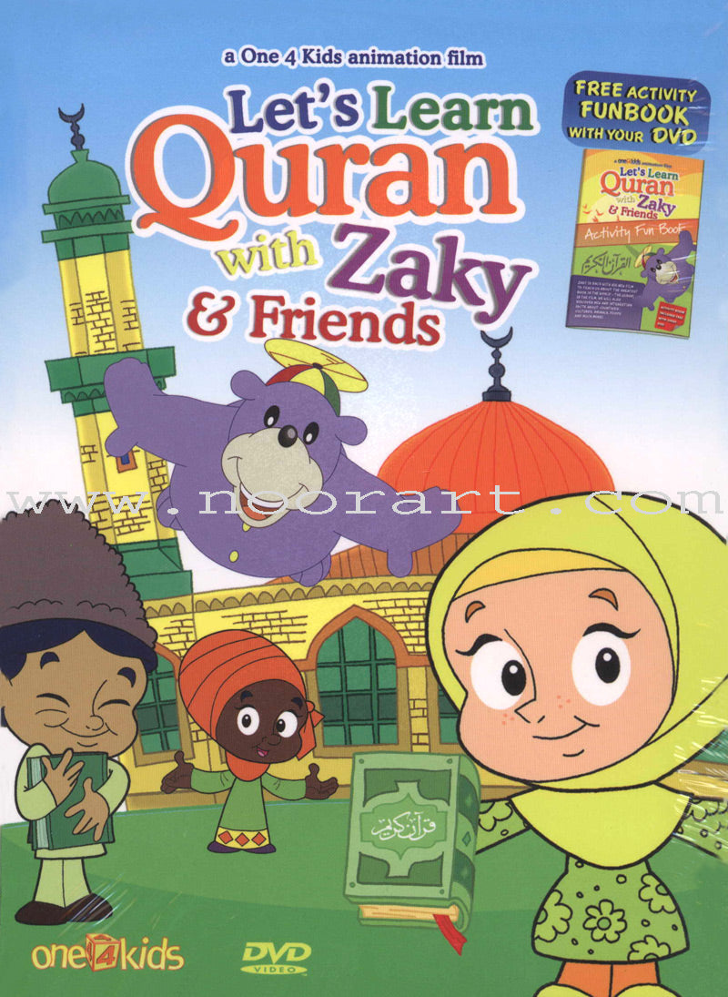 Let's Learn Qur'an with Zaky & Friends (DVD)