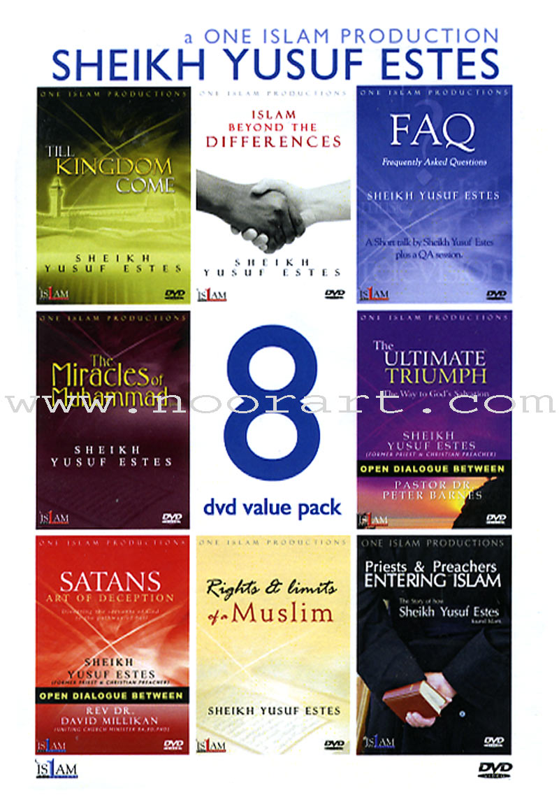 Yusuf Estes 8-DVD Value Pack
