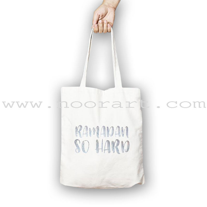 Ramadan So Hard - small tote
