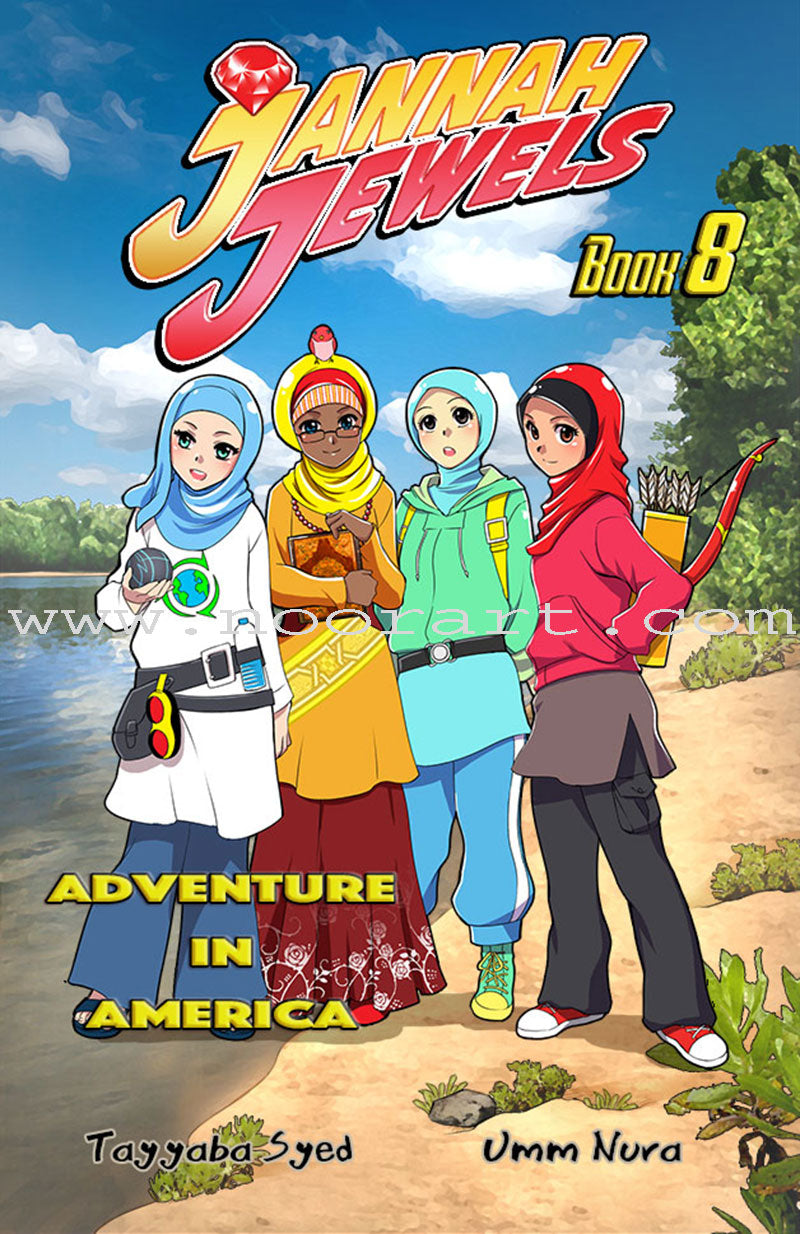 Jannah Jewels - Adventure In America : Book 8