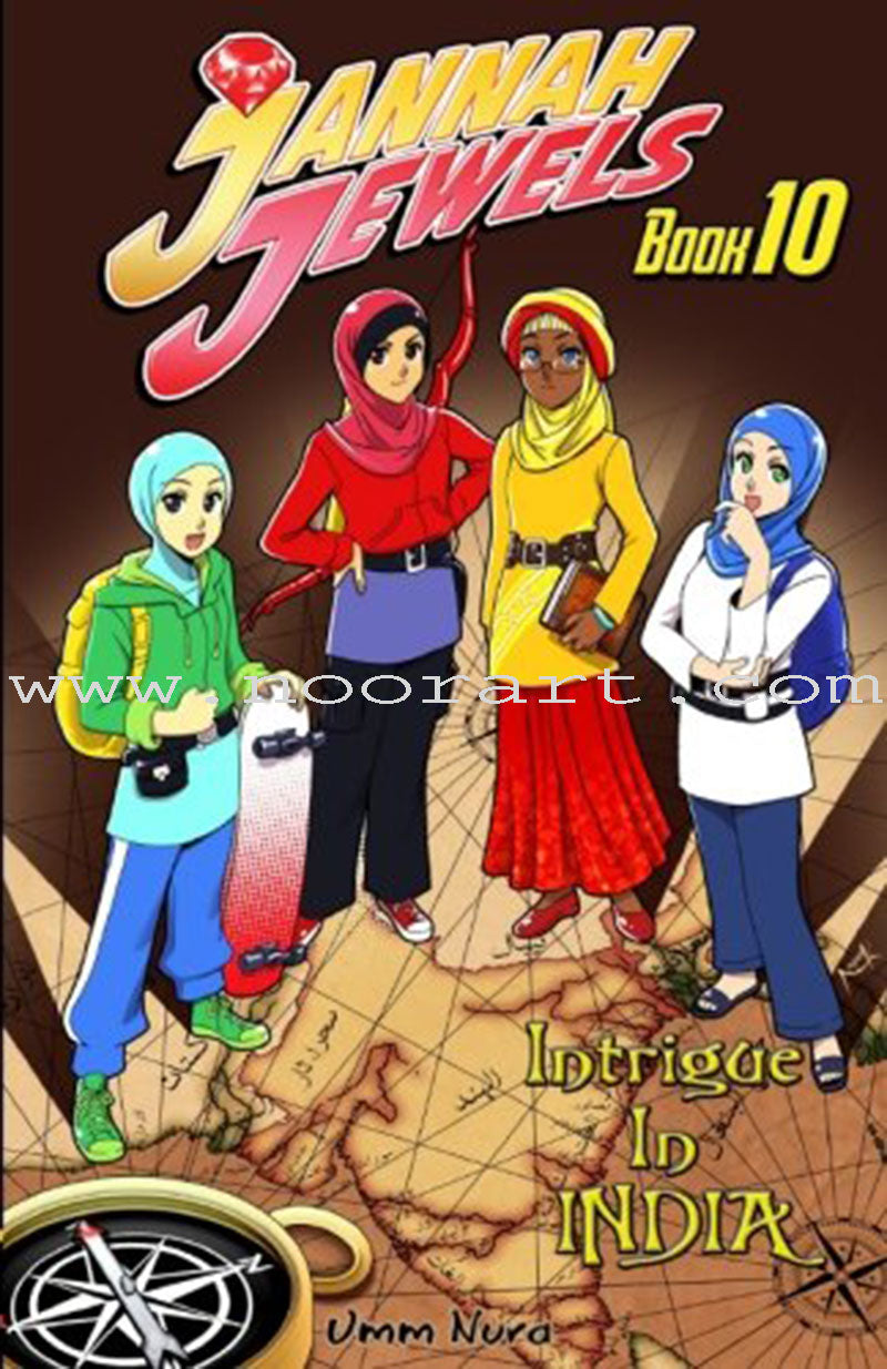 Jannah Jewels - Intrigue In India - Book 10