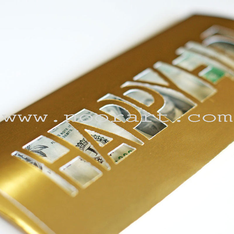 Money Envelopes (Gold)