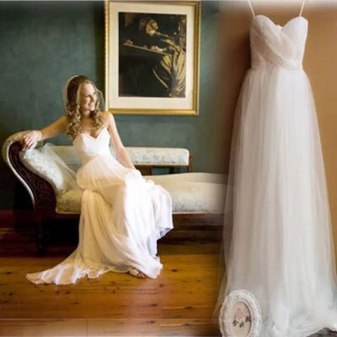 Elegant Luxe Wedding Gown - Gowns.sg