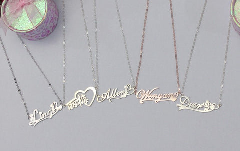 Personalised Name Necklace - Gowns.sg