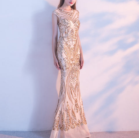 All That Glitters is Gold Gown - Gowns.sg