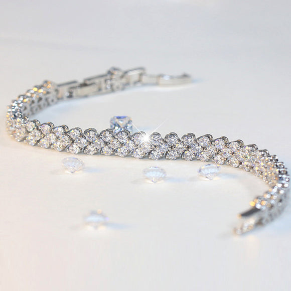 Stimulated Diamond Bracelet