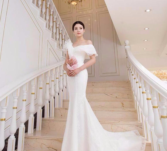De Rose Fitted Gown - Gowns.sg