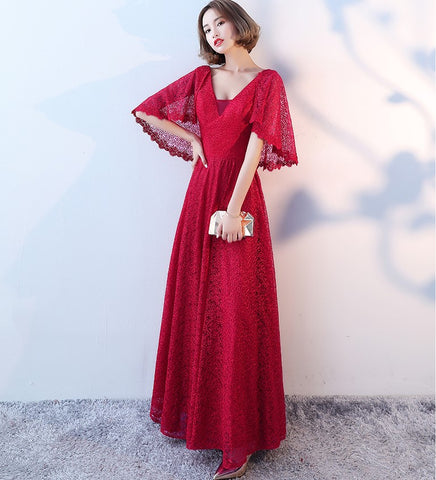 Flutter Sleeve Gown - Gowns.sg
