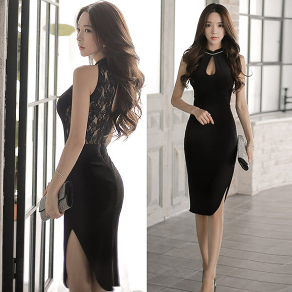 Mink Pencil Dress - Gowns.sg