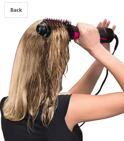 One step hair dryer and volumiser
