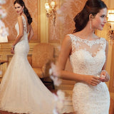 Adalen Lace Illusion Gown - Gowns.sg