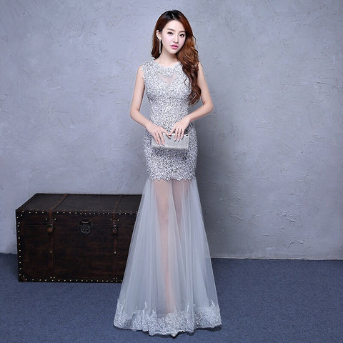 FION Fishtail gown (S-XXL) - Gowns.sg