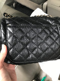 Distressed Stud quilted bag - Gowns.sg
