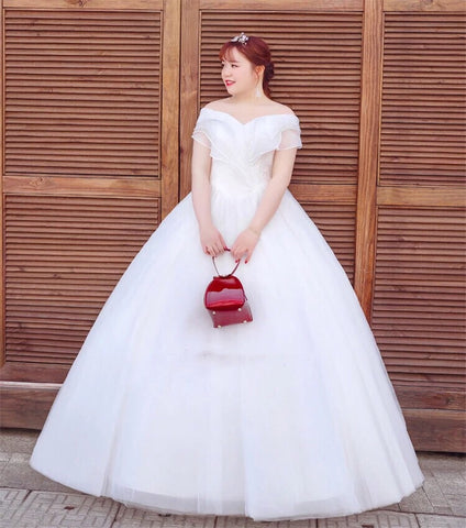 PLUS* Rose Wedding Gown (L onwards) - Gowns.sg