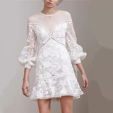 Fall For Me Lace Dress (S/M/L) - Gowns.sg
