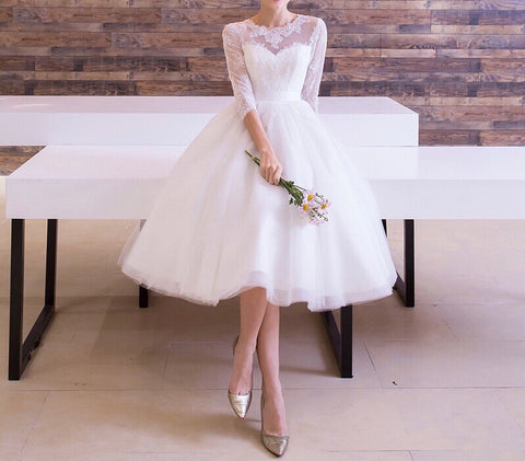 Vintage Reception Dress (S-XL) - Gowns.sg