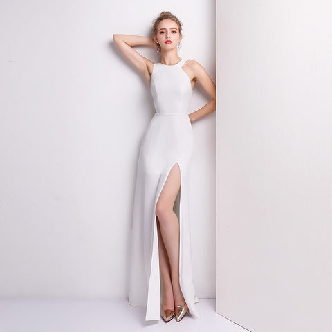 Amilus Side Cut Out Gown - Gowns.sg