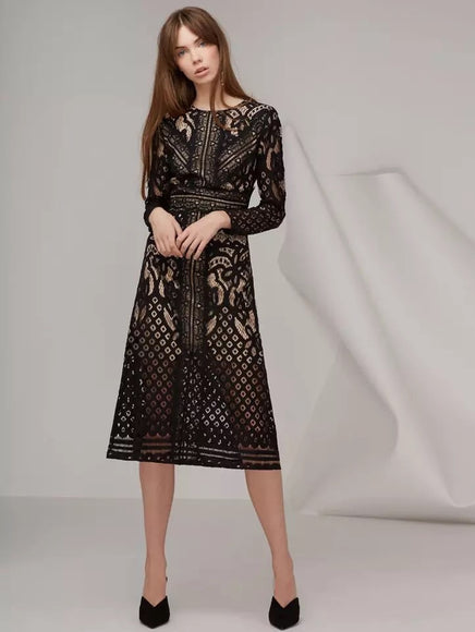 Delany Lace dress - Gowns.sg
