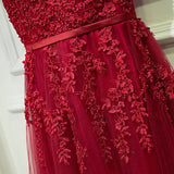 Rina Floral embellishments evening gown - Gowns.sg