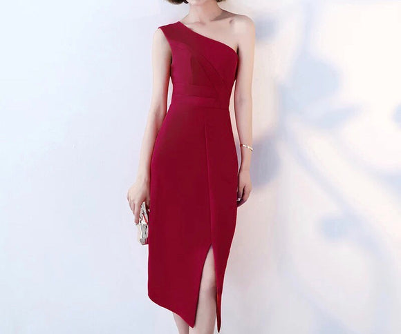 //POSH// Sleek Toga Dress - Gowns.sg