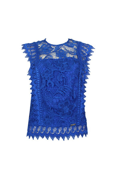 Lace Embroided Top (XS/S/M) - Gowns.sg