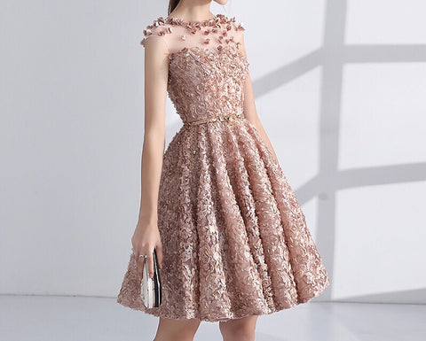 Bloomingsdale 3D Floral Dress<q¥vK1C0K2NeOr¥q> - Gowns.sg