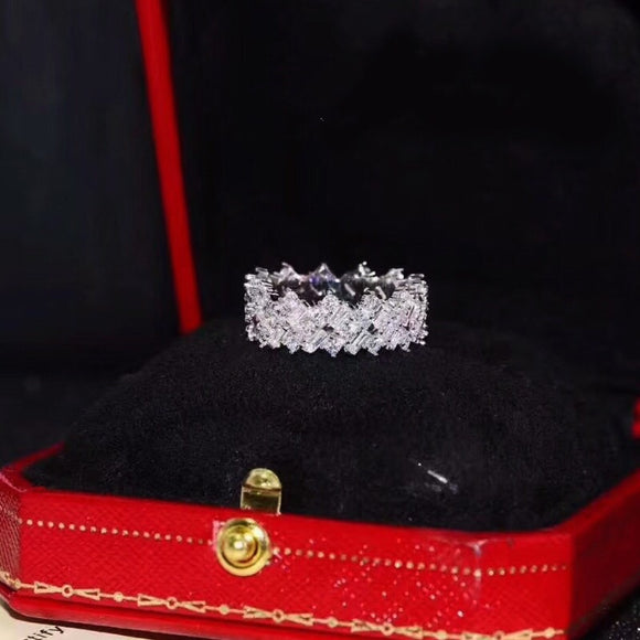 Stimulated Diamond Ring OFF831(US 5- US 9) - Gowns.sg