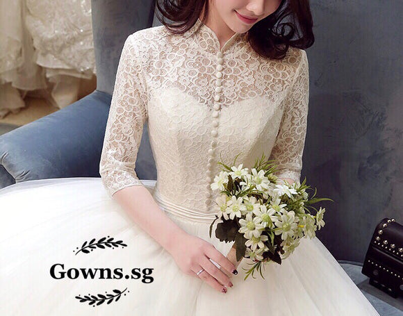 Sofia Gown (S-4XL) - Gowns.sg
