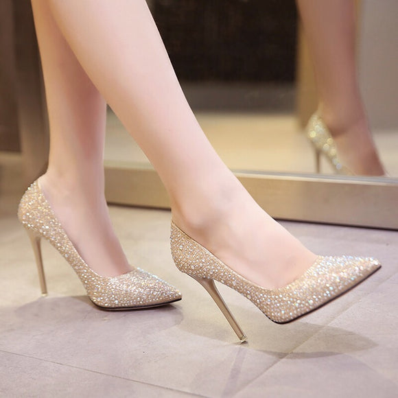 Sparkly Heels - Gowns.sg
