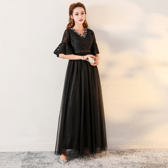 Classic Plus Evening Gown (XXL-5XL) - Gowns.sg