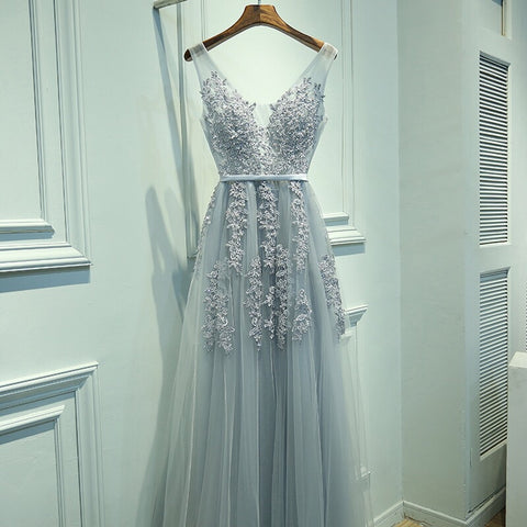 <EG007>Lace Mesh Evening Gown (S-3XL) - Gowns.sg