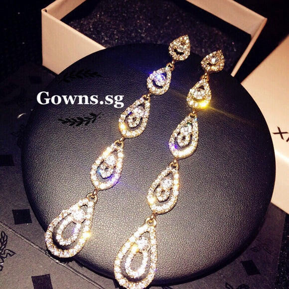 Long Earrings OFF434 - Gowns.sg