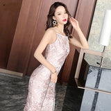 Chinoise Pattern Dress (XS-L) - Gowns.sg
