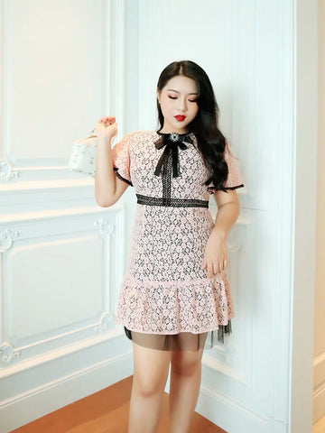 Infinity Lace Plus Dress