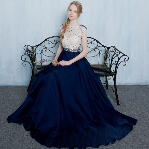 Kaia Gown in Blue