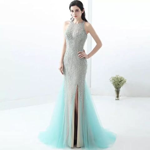 Perfect Ariel Beaded Gown