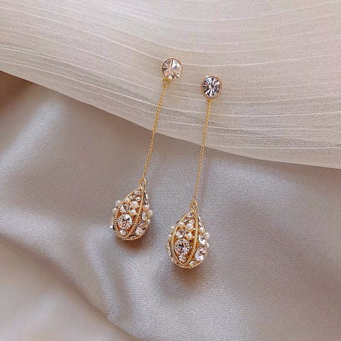 Tinkerbell Earrings - Gowns.sg