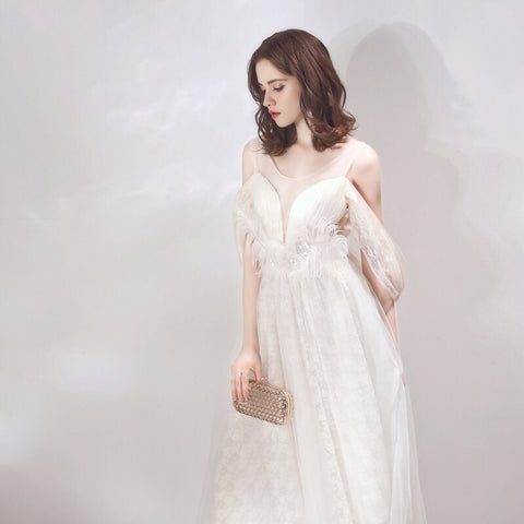Wind Chimes Mesh Gown - Gowns.sg