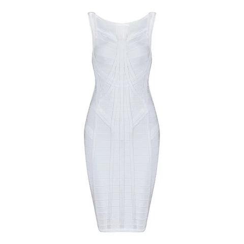 <CS112>Pure Bliss Bandage Dress - Gowns.sg