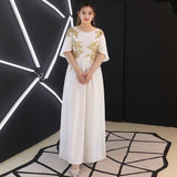 Ethiopian Flare Sleeve Gown (XL upwards) - Gowns.sg