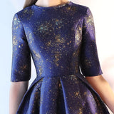 Artwork Flare Dress (S-XXL) - Gowns.sg