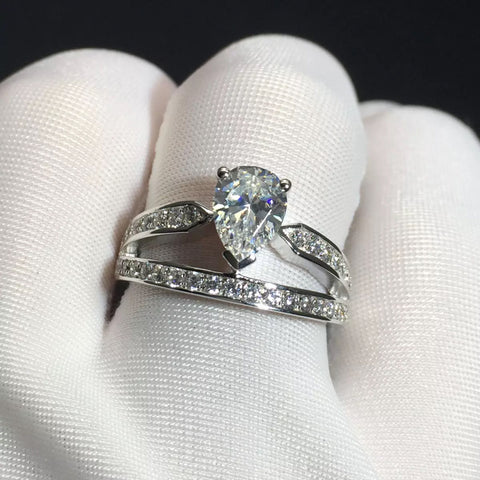 Simulated Diamond Ring OFF825